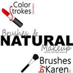 Mineral Makeup - Brushes by Karen, Inc.  / ColorStrokes Cosmetics